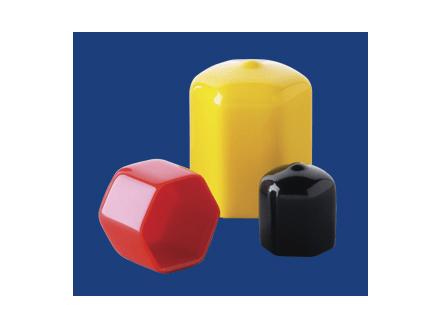 Carlisle Plastics Hex PVC Caps