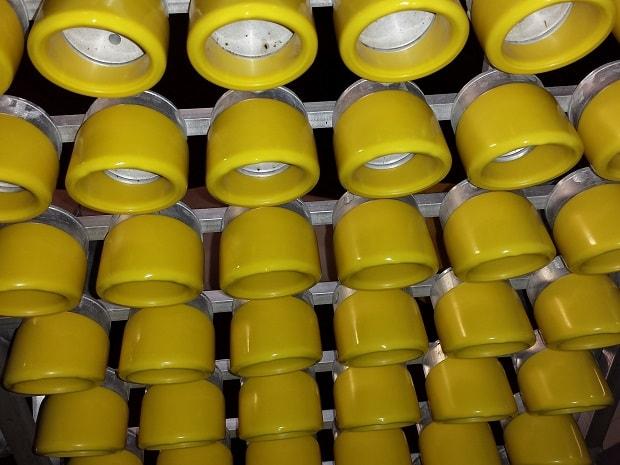 Plastic Circular End Caps