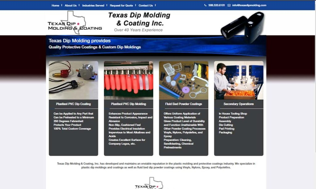 Texas Dip Molding & Coating, Inc.