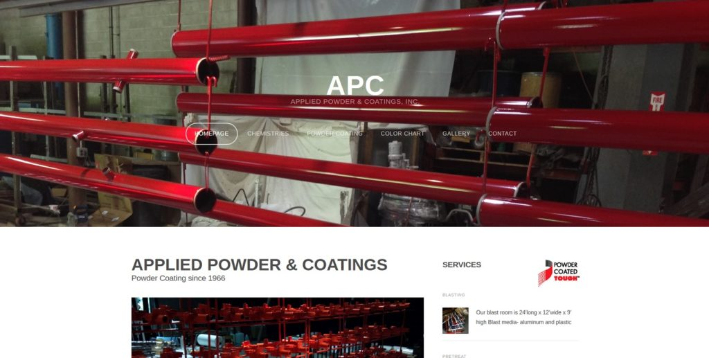 Applied Powder & Coatings, Inc.