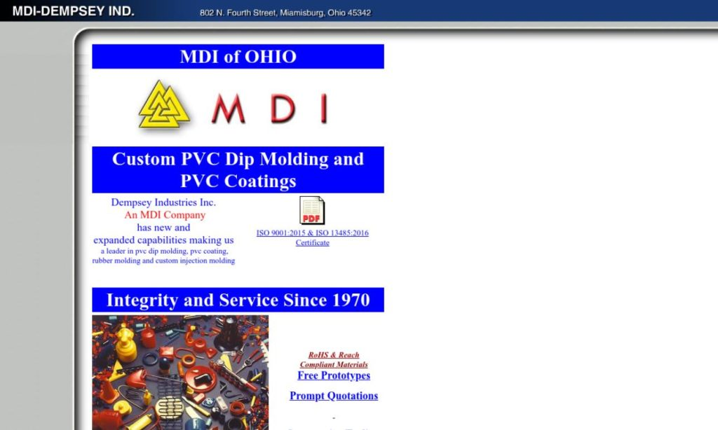 More Dip Molding Company Listings