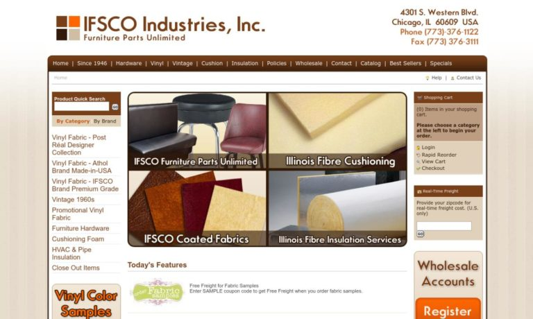 IFSCO Industries, Inc.