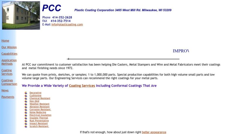 Plastic Coating Corporation