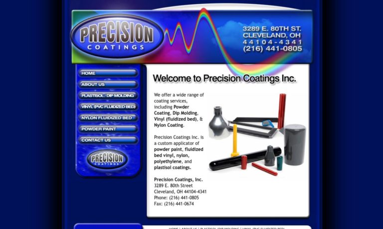 Precision Coatings Inc.